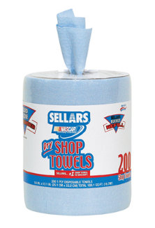 Sellars 174 Drc Wipers 500 Series Blue Disposable Shop