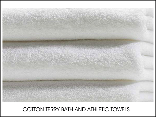 COTTON BATH AND ATHLETIC TOWEL