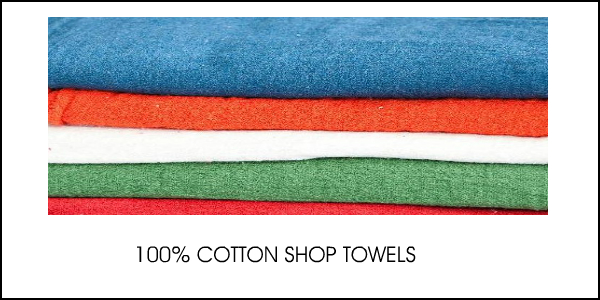 100% COTTON SHOP TOWELS