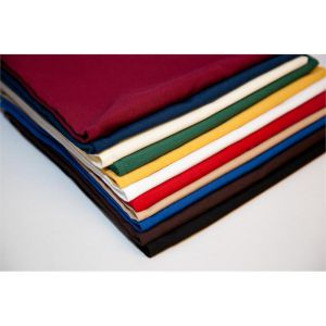 multi colored bulk tablecloths and linen napkins in bulk