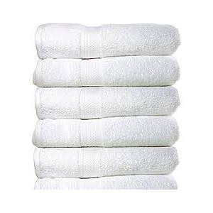 white cotton towels in bulk