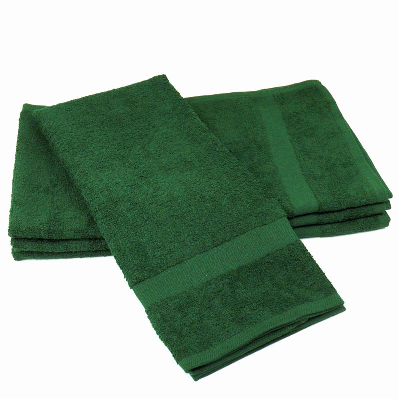 Hunter Green Color Safe Hand Towel U S Wiping Materials