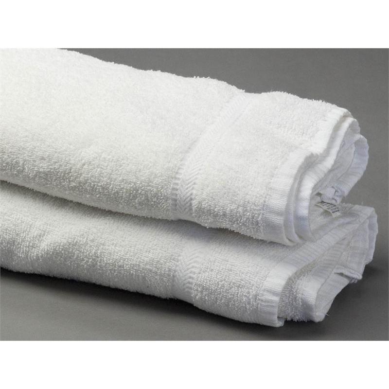 White Hand Towels In Bulk