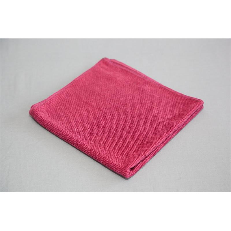 Burgundy glass cleaning microfiber us wiping co for Glass cleaning towels