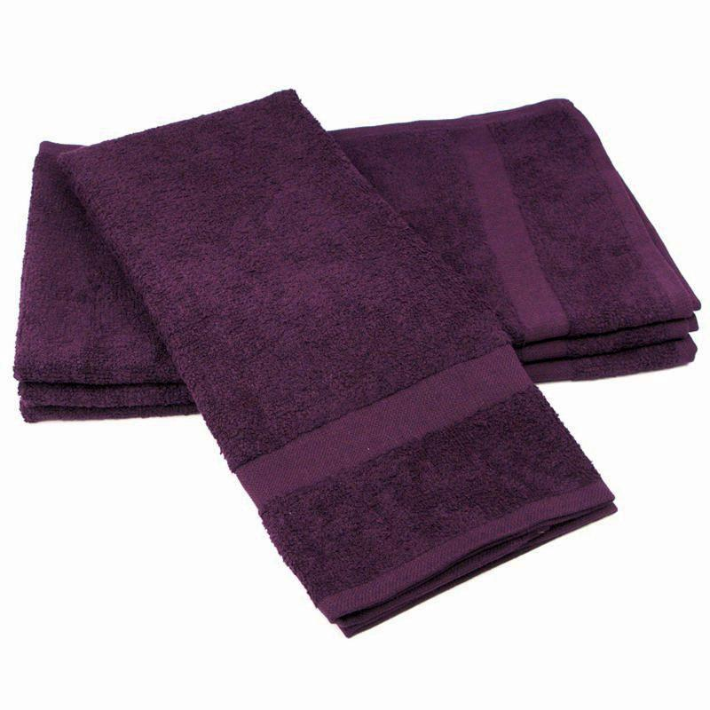 Color Safe Towels Purple Hand Towels U S Wiping