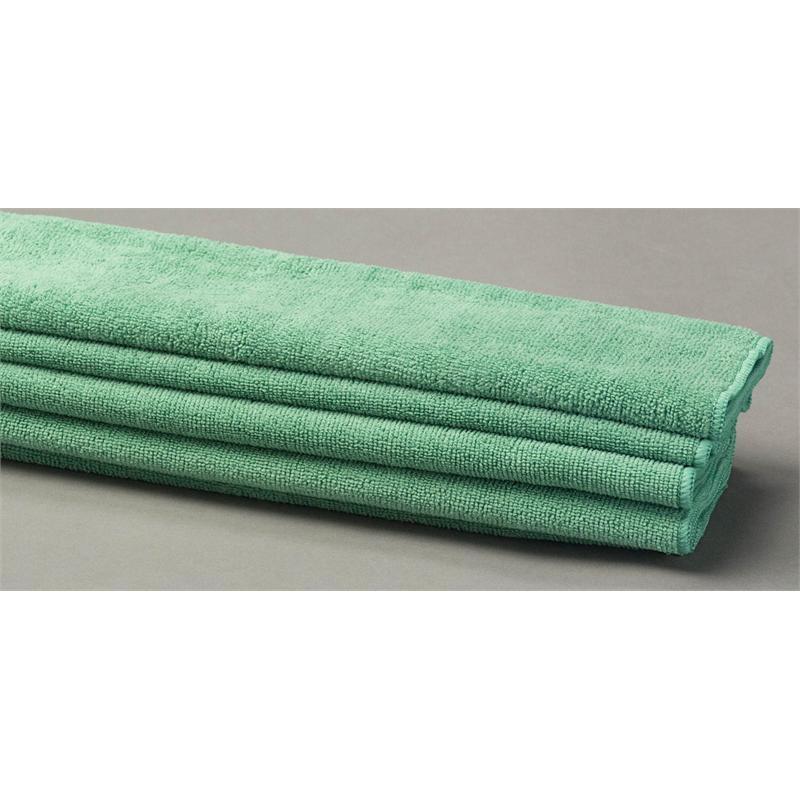 Green Microfiber Towel: Green Terry Microfiber Cloths & Towels
