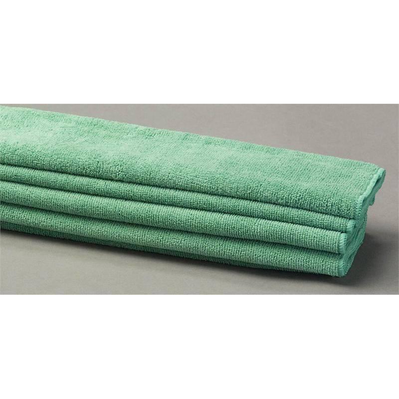 Green Microfiber Towel: Green Terry Microfiber Towels