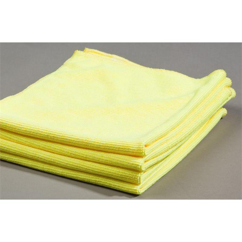 Yellow microfiber glass cleaning cloths towels u s wiping for Glass cleaning towels