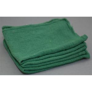 1,000 ct. bulk green shop towels - bale packed