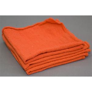 100 ct. bulk orange shop towels - bale packed