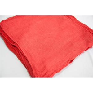100 ct. bulk red shop towels - bale packed