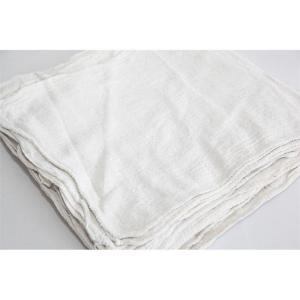 100 ct. bulk white shop towels - bale packed