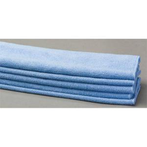 blue lint free cloth microfiber towels