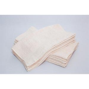 bone white hand towels