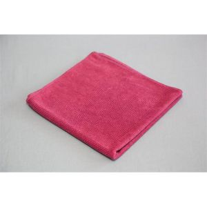 burgundy glass cleaning microfiber cloth towel
