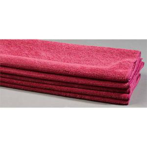burgundy lint free cloth microfiber towels