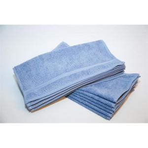 colonial blue hand towels