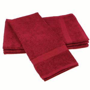 Burgundy Color-Safe Hand Towel