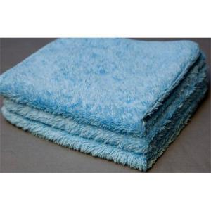 fluffy blue microfiber lint free cloth rags