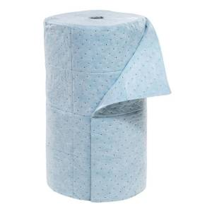 heavyweight multilaminate oil absorbent rolls