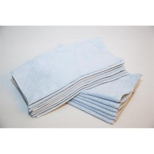 imperiale light blue hand towels