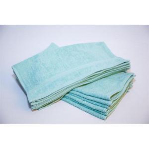 kashmir green hand towels
