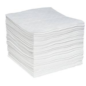 multilaminate oil absorbent spill pads