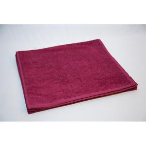 Premier Burgundy Salon Towel