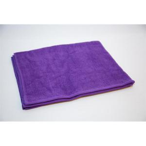 purple salon towel