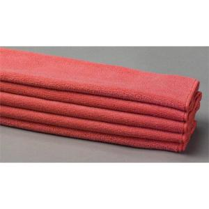 red lint free cloth microfiber towels