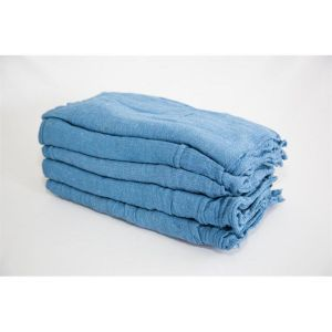 blue shop towels in bulk - route ready