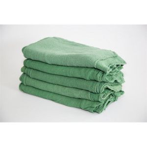 green shop towels in bulk - route ready
