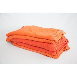 orange shop towels in bulk - route ready