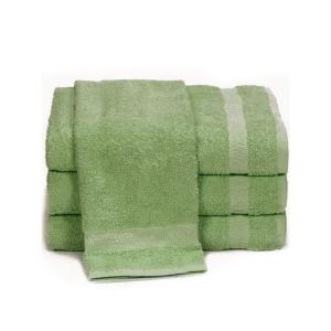 green-towels