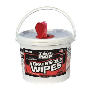 sellars toolbox grab n scrub wipes 130 ct.