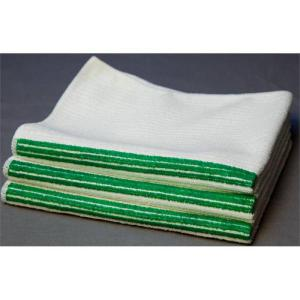 striped lint free cloth bar towels
