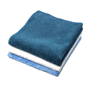"12"" X 12"" MICROFIBER CLEANING CLOTHS"