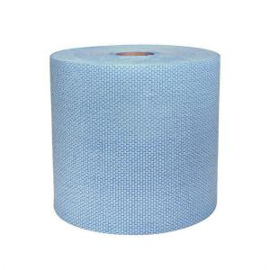 blue jumbo paper towel roll