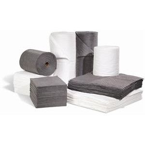 oil absorbent pads, oil absorbent rolls and oil absorbent socks