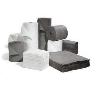 sonic bonded oil absorbent pads and rolls